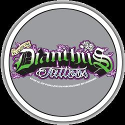 Dianthus tattoo logo