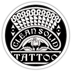 Clean Solid Tattoo logo