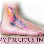 My Precious Ink voetblaas.jpg