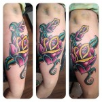 Red Rose Tattoo 4