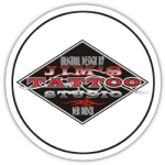 Jims tattoo studio logo rond.png