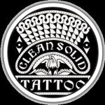 Clean Solid Tattoo logo
