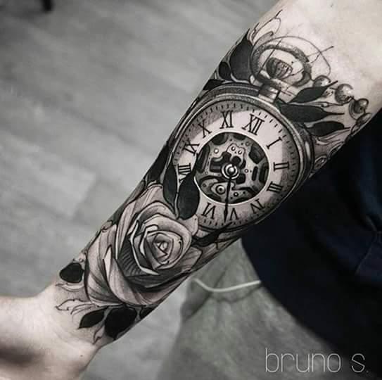 349 Best Images About Tat Up On Pinterest: Klok / Horloge Tattoo En De Betekenis
