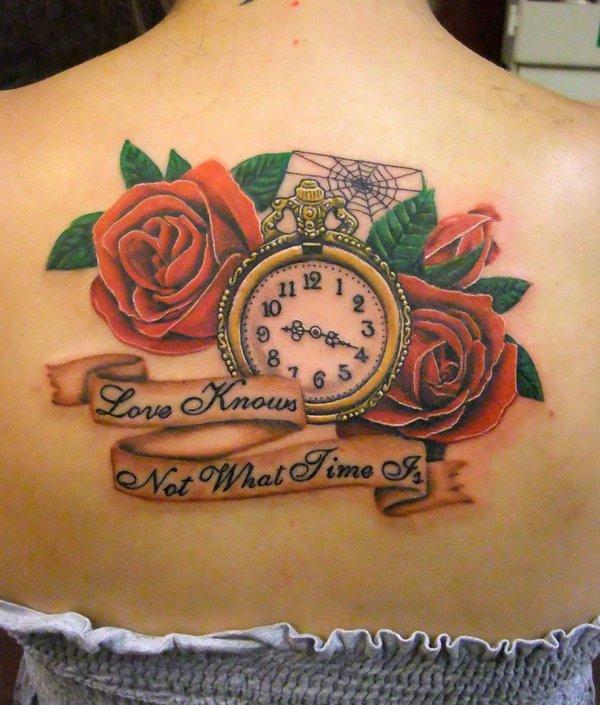 Extreem Klok / horloge tattoo en de betekenis &ON14