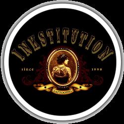Inkstitution logo rond