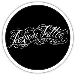 Legion Tattoo logo rond