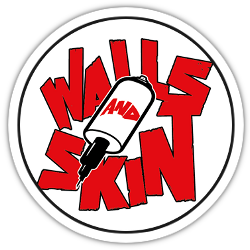 Walls and Skin logo rond