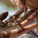 Henna tattoo voorbeeld