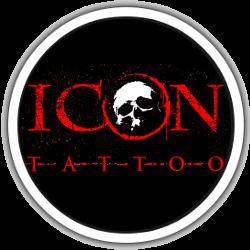 Icon Tattoo logo rond