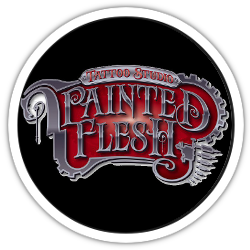 Logo Painted Flesh Tattoo