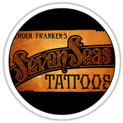 Seven Seas Tattoo logo rond