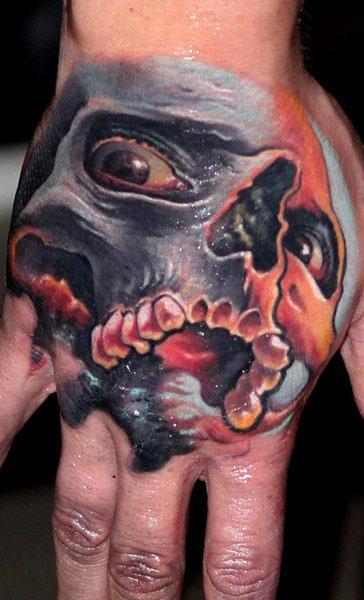 Hand job tattoo message, matchless)))