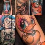 Dapper Tattoo voorbeelden