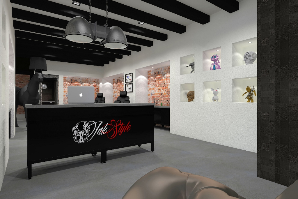 NIEUW Tattoo shop interieurs – Tattoo Platform