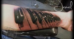 Tattoo van de dag door Jamal