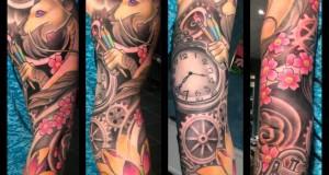 Tattoo van de dag door Lyz Diephuis