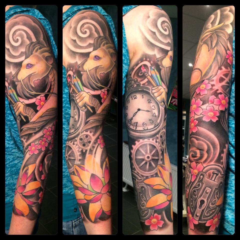 Tattoo van de dag Lyz Diephuis