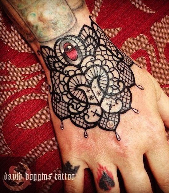 Female Wrist Design Tattoos