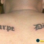 Tattoo met spelfout