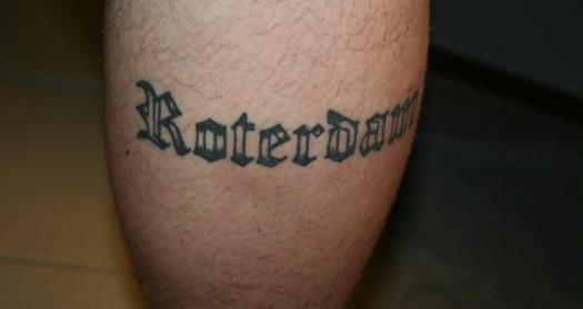 Tattoo met foute spelling