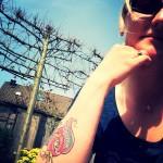 Tattoo selfie