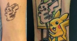 Pikachu tattoo