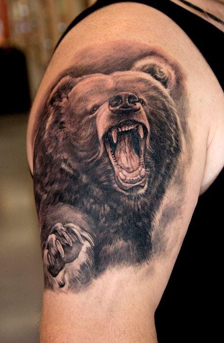 Tattoo van de dag door Thomas Kynst