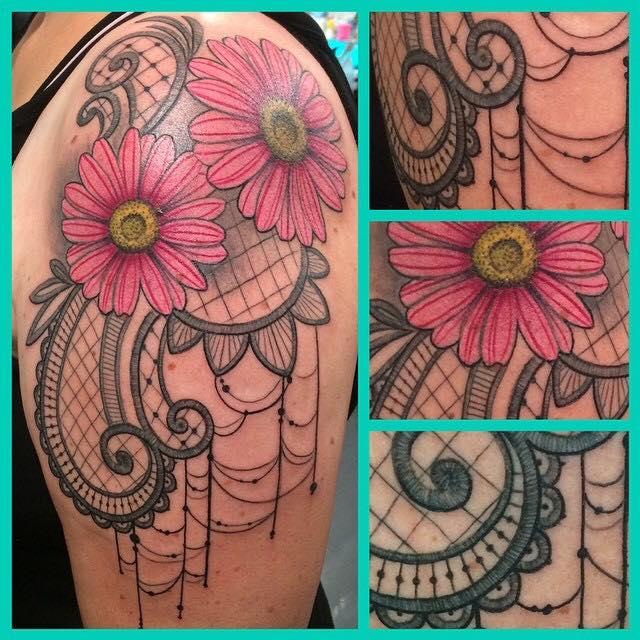 Tattoo van de dag door Veerle