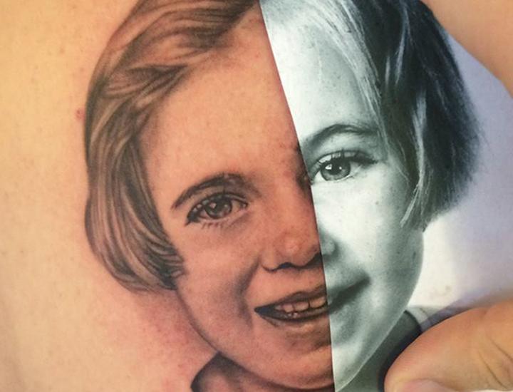 Tattoo van de dag Skin FX