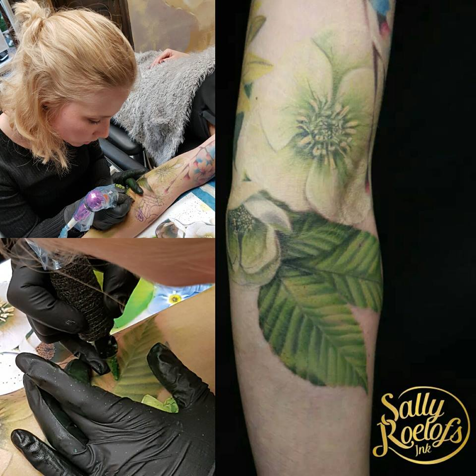 Tattoo van de dag door Sally Roelofs