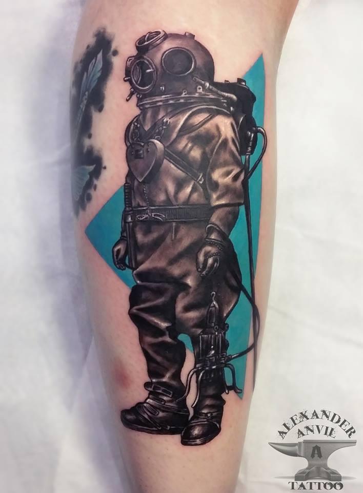 Tattoo van de dag door Alexander Anvil