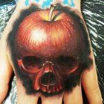 Hand Tattoo 1