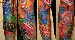 Rags2Riches tattoo van de dag 1