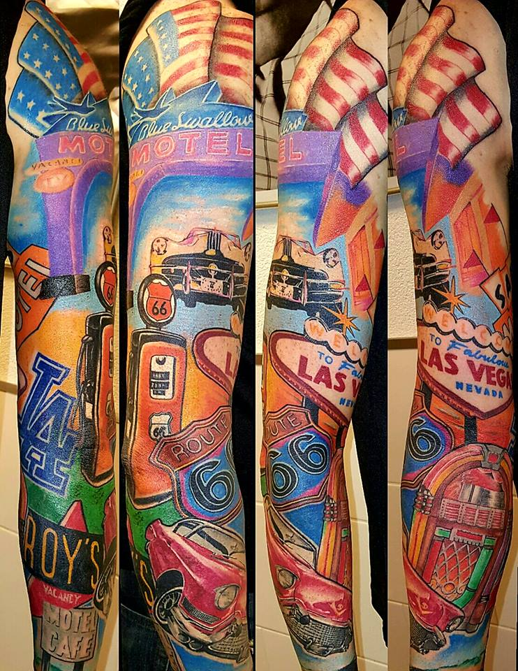 Rags2Riches tattoo van de dag