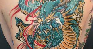 Tattoo van de dag door Kimihito