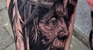 Hand of God Tattoo 1