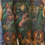 Halloween tattoo 11