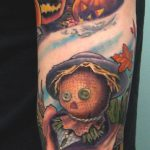 Halloween tattoo 3