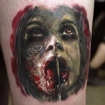 Halloween tattoo 30