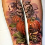 Halloween tattoo 9