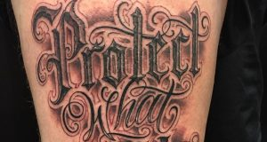 Lettering by Mitch