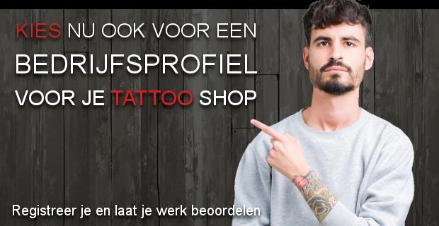 Bedrijfsprofiel voor tattoo shops